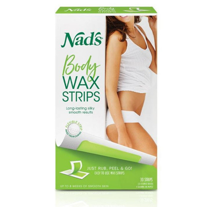 NADS Body Wax Strips 20s