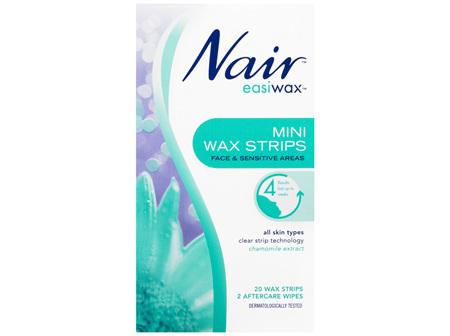 Nair Easiwax Mini Wax Strips 20 Pack