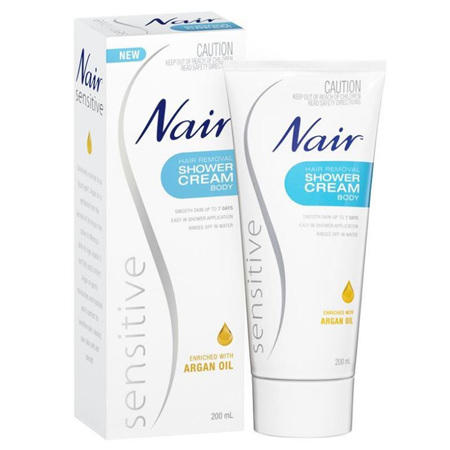 NAIR Sensitive Shower Cream 200ml