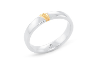 NAKED BARCELONA DELICATE MENS WEDDING RING