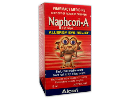 Naphcon A Eye Drops - 15mL