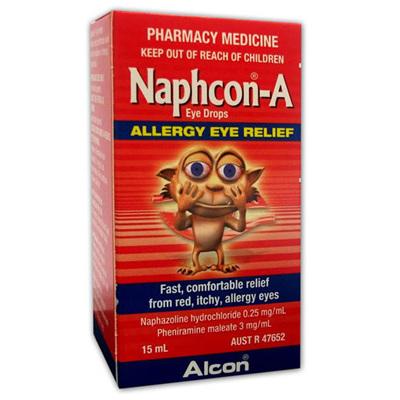 Naphcon A Eye Drops - 15mL