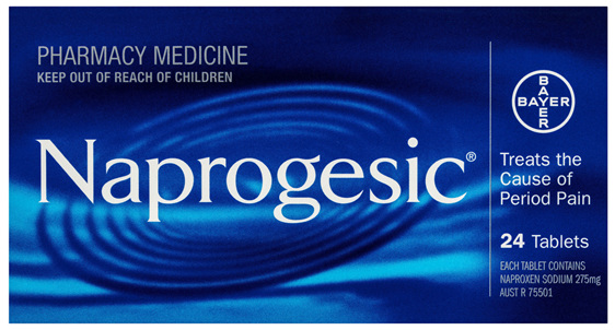 Naprogesic Period Pain Tablets 24 Pack