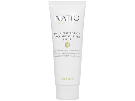 Natio Aromatherapy Daily Protection Face Moisturiser SPF 15 100g