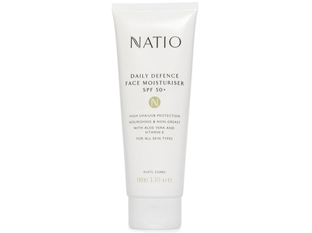 Natio Daily Defence Face Moisturiser SPF 50 100ml