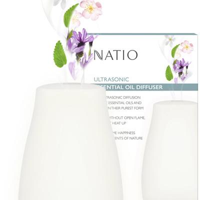 Natio UltraSonic Essential Oils Diffuser