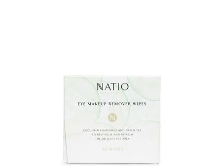 Natio Eye Makeup Remover Wipes