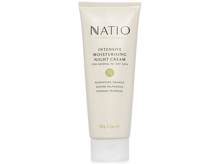 Natio Intensive Moisturising Night Cream 100g