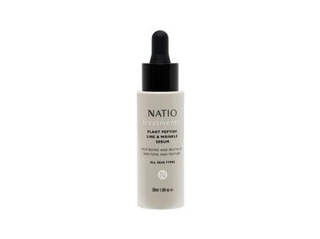 Natio Plant Peptide Line & Wrinkle Serum 30mL