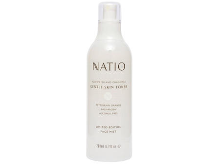 Natio Rosewater and Chamomile Gentle Skin Toner Face Mist