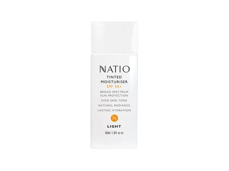 Natio Tinted Moisturiser SPF 50+ - Light