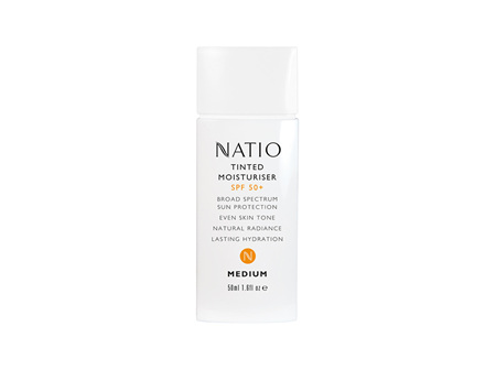 Natio Tinted Moisturiser SPF 50+ - Medium