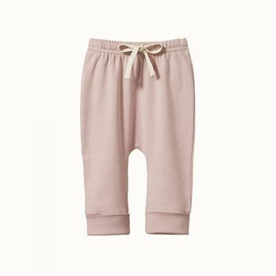Nature Baby Cotton Drawstring Pants Rosebud