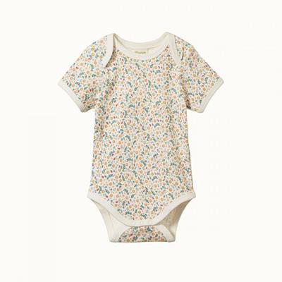 Nature Baby Short Sleeve Bodysuit June's Garden