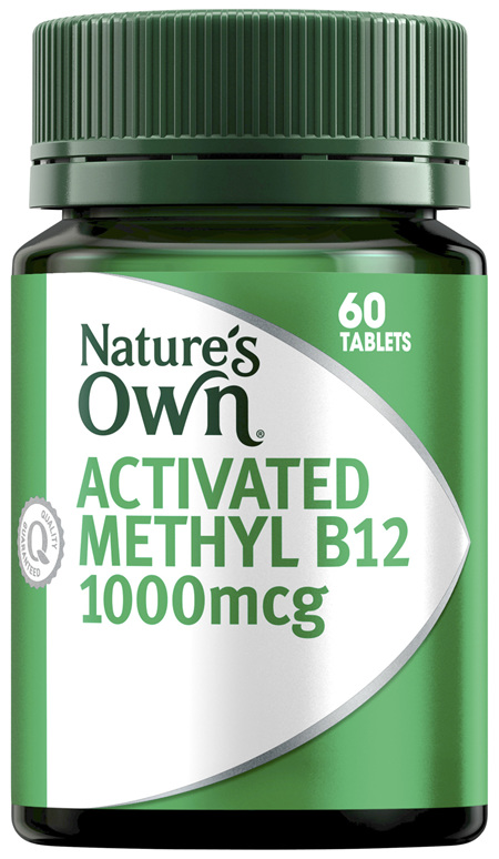 Nature's Own Activated Methyl B12