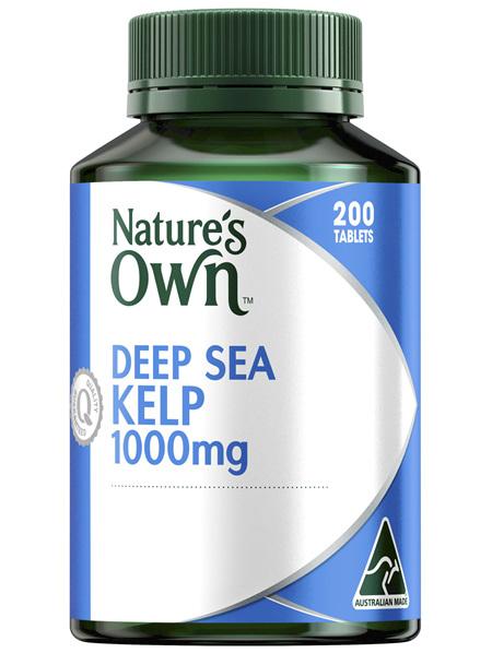 Nature's Own Deep Sea Kelp 1000mg 200 Tablets