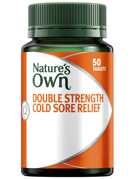 Nature's Own Double Strength Lysine 1000mg