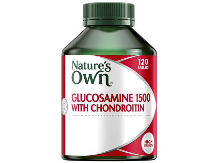 Nature's Own Glucosamine 1500 with Chondroitin