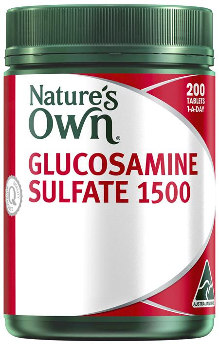 Nature's Own Glucosamine Sulfate 1500