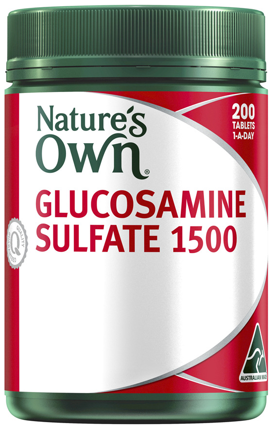 Nature's Own Glucosamine Sulfate 1500 200 Tablets