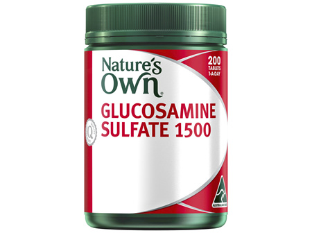 Nature's Own Glucosamine Sulfate 1500 Tablets 200