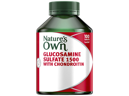Nature's Own Glucosamine Sulfate 1500 with Chondroitin Tablets 100