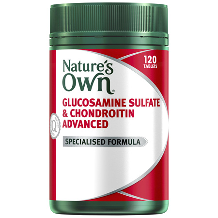Nature's Own Glucosamine Sulfate & Chondroitin Advanced