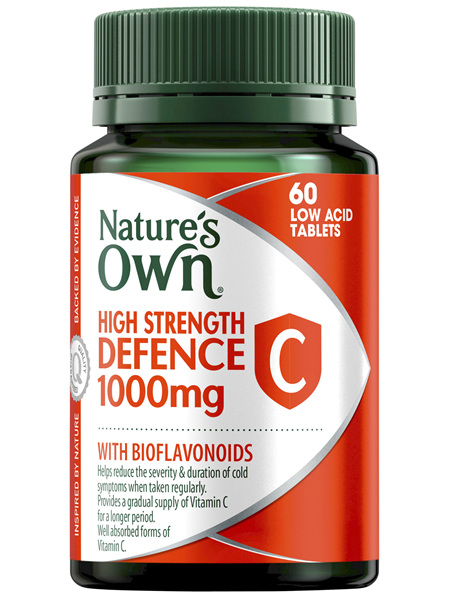 Nature's Own High Strength Defence C 1000mg