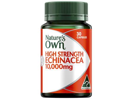 Nature's Own High Strength Echinacea 10,000mg 30 Capsules