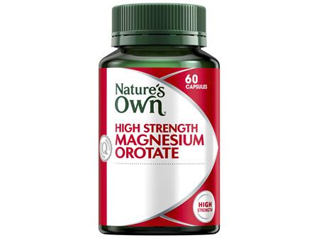 Nature's Own High Strength Magnesium Orotate 60 Capsules