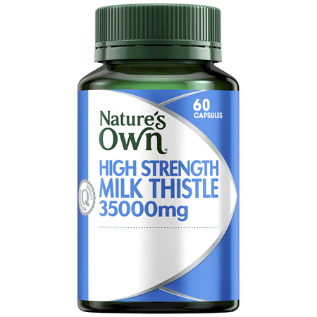 Nature's Own High Strength Milk Thistle 35000mg