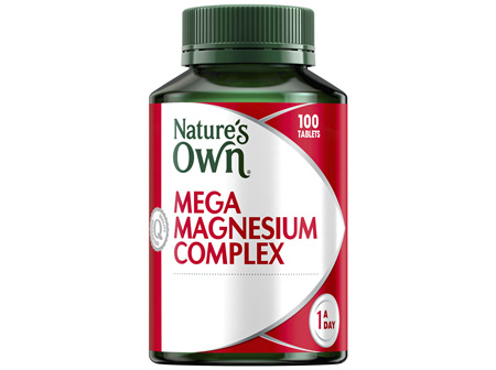 Nature's Own Mega Magnesium Complex