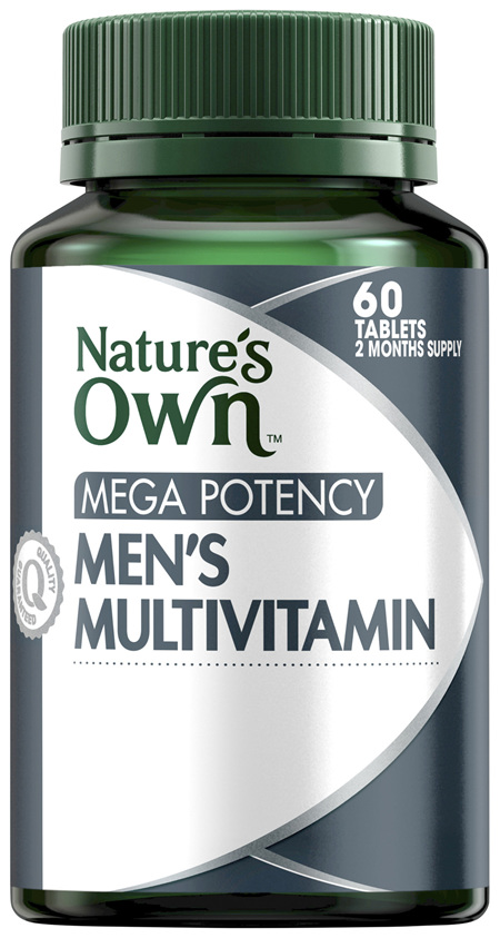 Nature's Own Mega Potency Men's Multivitamin