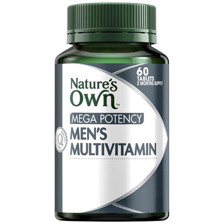 Nature's Own Mega Potency Men's Multivitamin