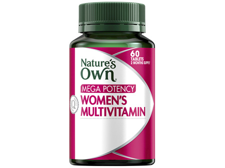 Nature's Own Mega Potency Women's Multivitamin