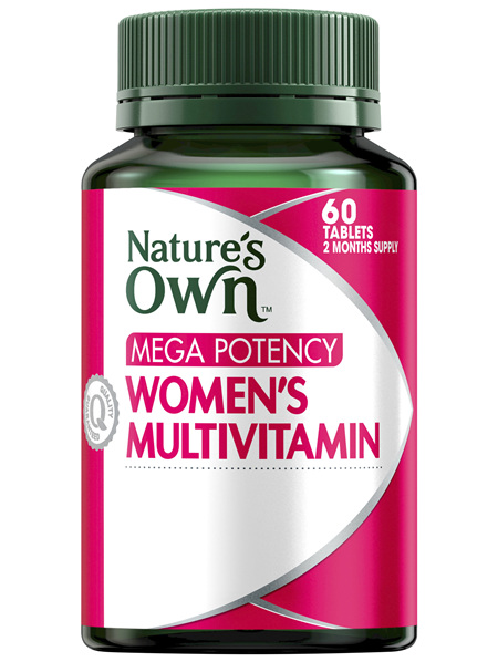 Nature's Own Mega Potency Women's Multivitamin