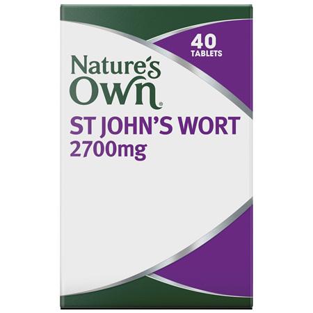 Nature's Own St John's Wort 2700mg