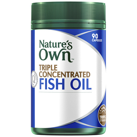 Nature's Own Triple Concentrated Fish Oil
