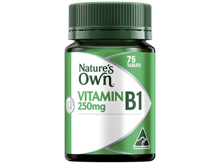 Nature's Own Vitamin B1 250mg