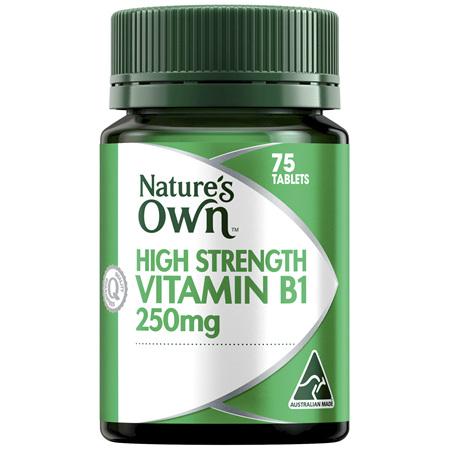 Nature's Own Vitamin B1 250mg