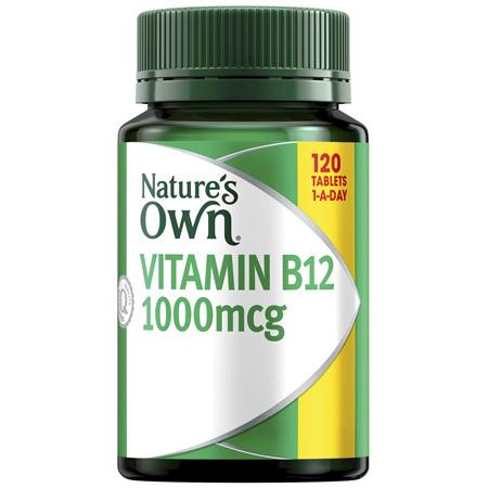 Nature's Own Vitamin B12 1000mcg