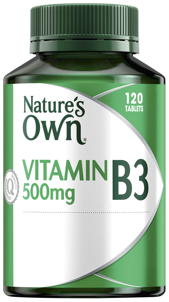 Nature's Own Vitamin B3 500mg