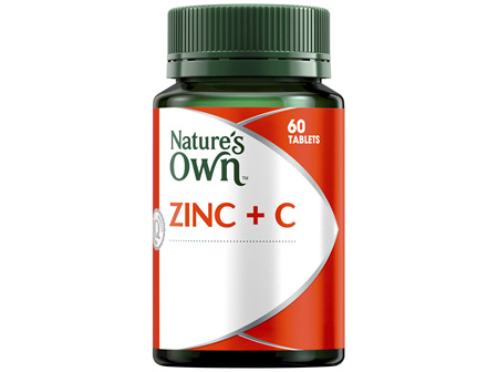 Nature's Own Zinc Plus C Chewable