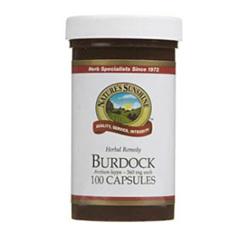 NATURES SUN Burdock 100caps