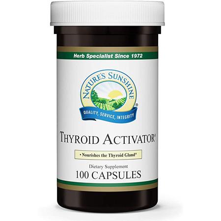 NATURES SUN Thyroid Activator 100vcap
