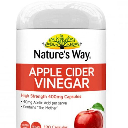 NATURES WAY Apple Cider Vinegar 120s