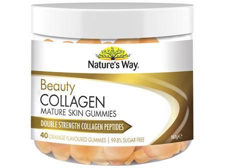 Nature's Way Beauty Collagen Mature Skin Gummies
