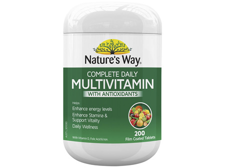 Nature's Way Complete Daily Multi 200 Tablets