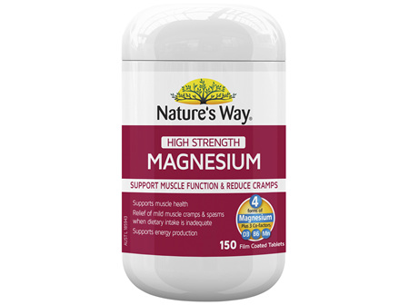 Nature's Way High Strength Magnesium 150 Tablets