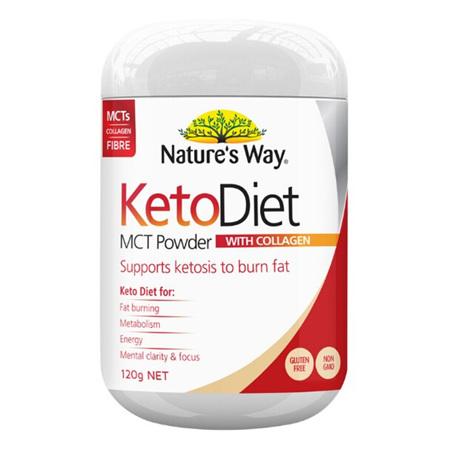 NATURES WAY Keto Diet MCT Powder 120g